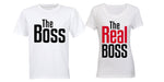 The REAL Boss - Couples Tees