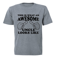 This is What an Awesome Uncle Looks Like - Adults - T-Shirt - BuyAbility South Africa