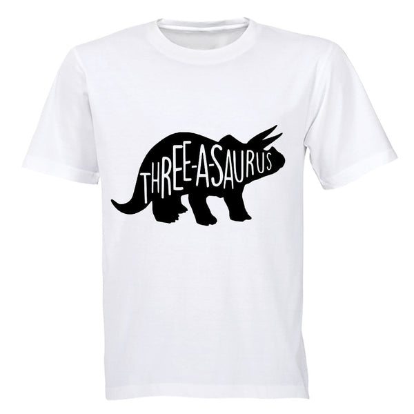 THREE-a-saurus - Kids T-Shirt