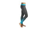 Blue Full Length Striped Gym Tights - BuyAbility South Africa