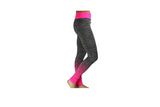 Pink Full Length Striped Gym Tights - BuyAbility South Africa