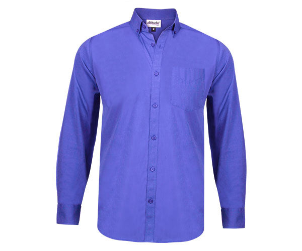 Viscount Mens Long Sleeve Shirt
