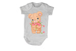 Valentine Flowers Teddy - Baby Grow - BuyAbility South Africa