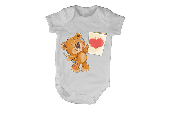Valentine Painter Teddy - Baby Grow - BuyAbility South Africa