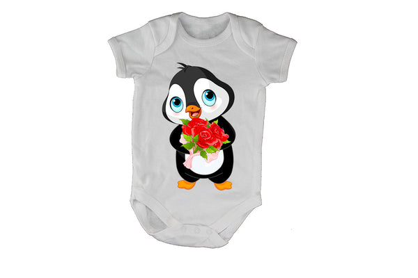 Valentine Penguin - Baby Grow - BuyAbility South Africa