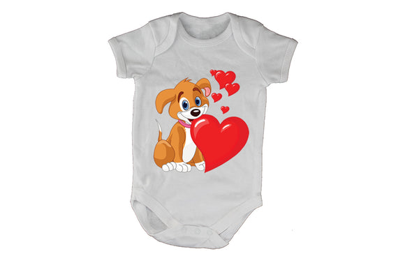 Valentine Puppy - Baby Grow - BuyAbility South Africa