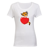 Valentine Tiger - Ladies - T-Shirt - BuyAbility South Africa