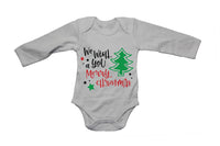 We Wish You a Merry Christmas - Tree - Baby Grow - BuyAbility South Africa