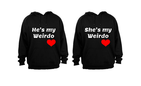 Weirdo Couple! - Couples Hoodies (1 Set) - BuyAbility South Africa