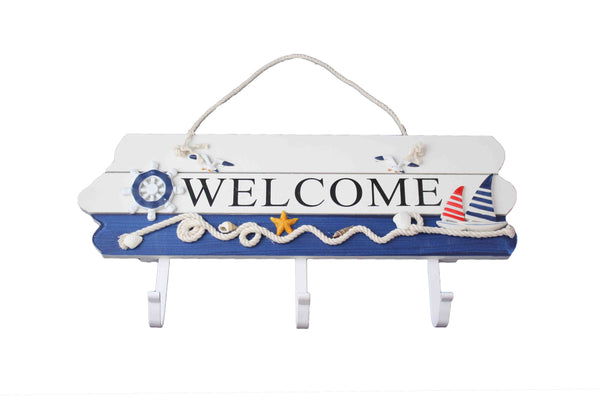 Welcome Sign with Coat Hooks - BuyAbility South Africa
