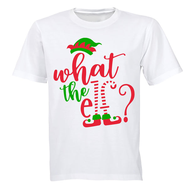 What the Elf - Christmas - Adults - T-Shirt - BuyAbility South Africa