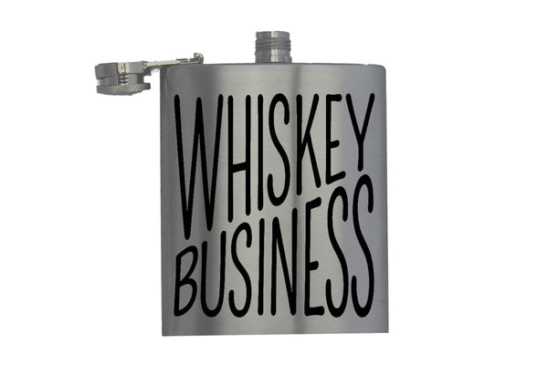 Whisky Business - Hip Flask
