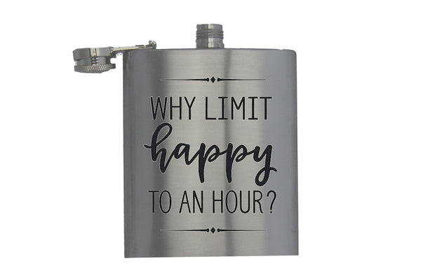 Why Limit Happy to an Hour? - Hip Flask