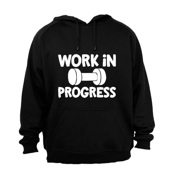 Work In Progress - Gym - Hoodie - BuyAbility South Africa