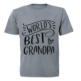 World's Best Grandpa! - Adults - T-Shirt