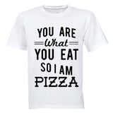 You are what you eat.. So I am PIZZA - Kids T-Shirt