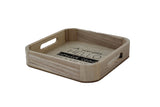 Square Bamboo Tray - A Simple Hello Could Lead to  A Million Things - BuyAbility South Africa