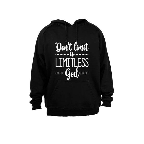 Don't limit a Limitless God! - Hoodie - BuyAbility South Africa