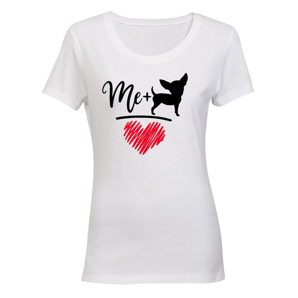 Me + Chihuahua - Ladies - T-Shirt - BuyAbility South Africa