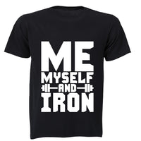 Me, Myself and Iron! - Adults - T-Shirt