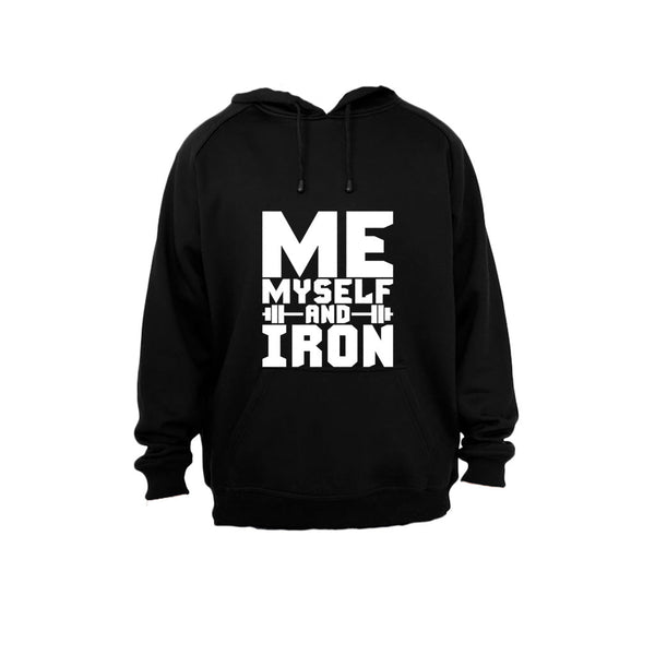 Me, Myself and Iron! - Hoodie - BuyAbility South Africa
