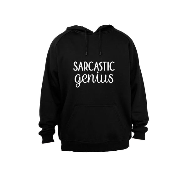 Sarcastic Genius - Hoodie - BuyAbility South Africa