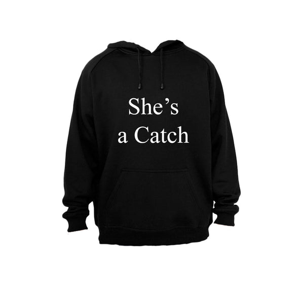 She's a Catch - Hoodie - BuyAbility South Africa