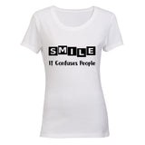 SMILE - it confuses people! BuyAbility SA