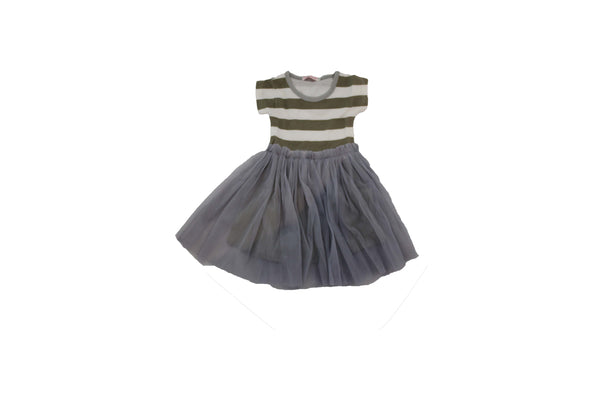 Grey and White Striped Dress - BuyAbility South Africa