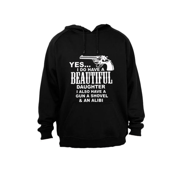 Yes, I Do Have A Beautiful Daughter - Hoodie - BuyAbility South Africa