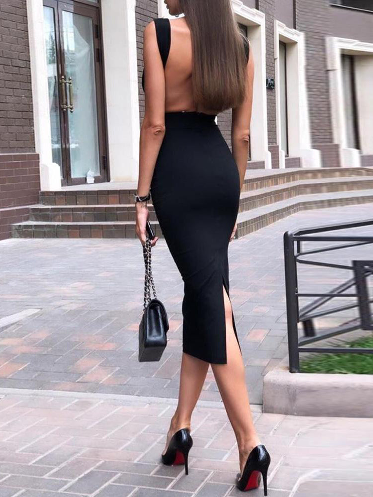 Solid Backless