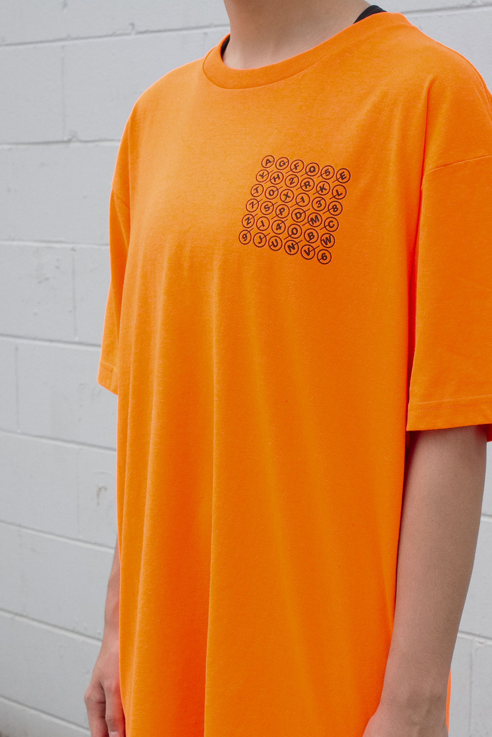 Blockchain Safety Orange Tee