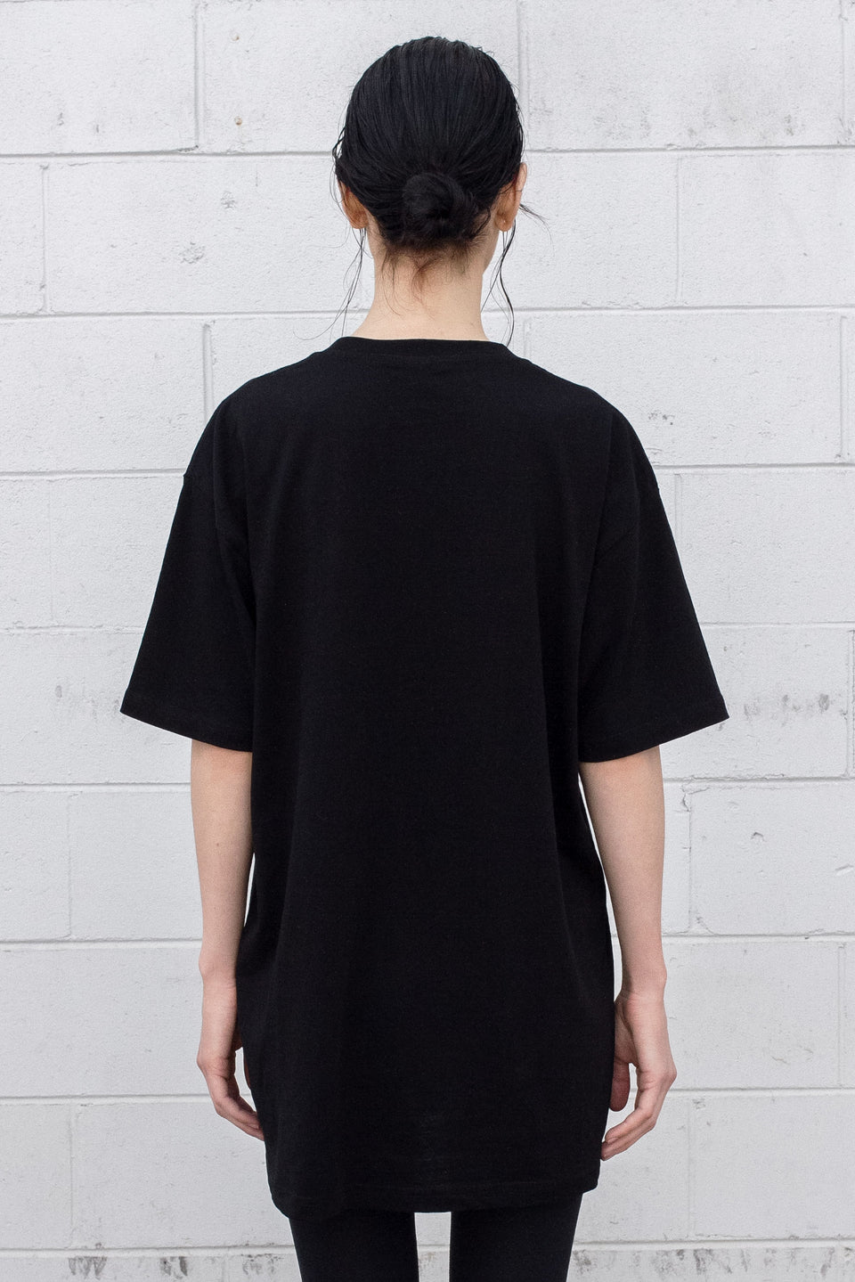 Disconnected Black Tee