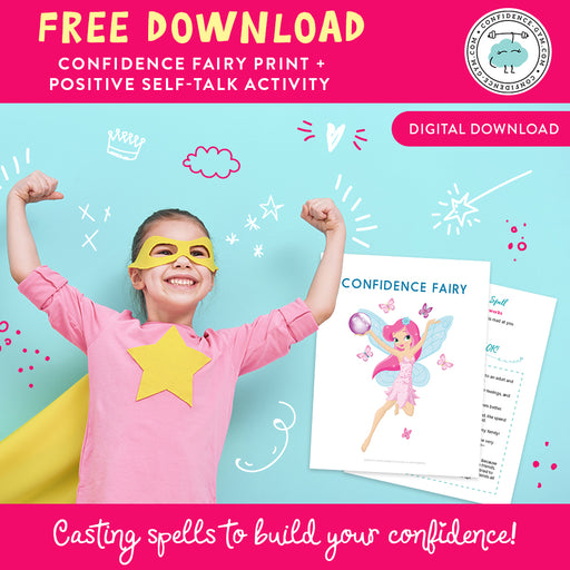 FREE DOWNLOAD: CONFIDENCE FAIRY WALL ART & ACTIVITY SET
