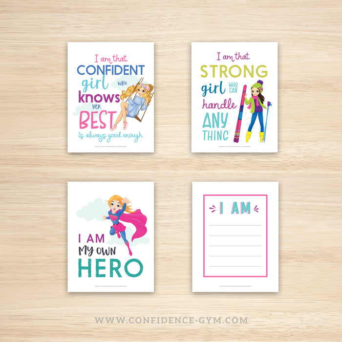 DOWNLOADABLE VERSION,  Confidence Kit for Girls (5+)