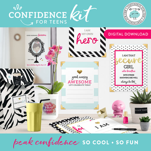 DOWNLOADABLE VERSION, Confidence Kit for Teens (12+)