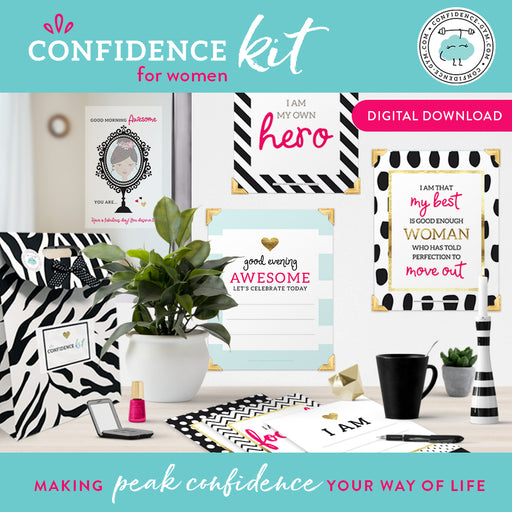 DOWNLOADABLE VERSION, Confidence Kit for Women (18+)
