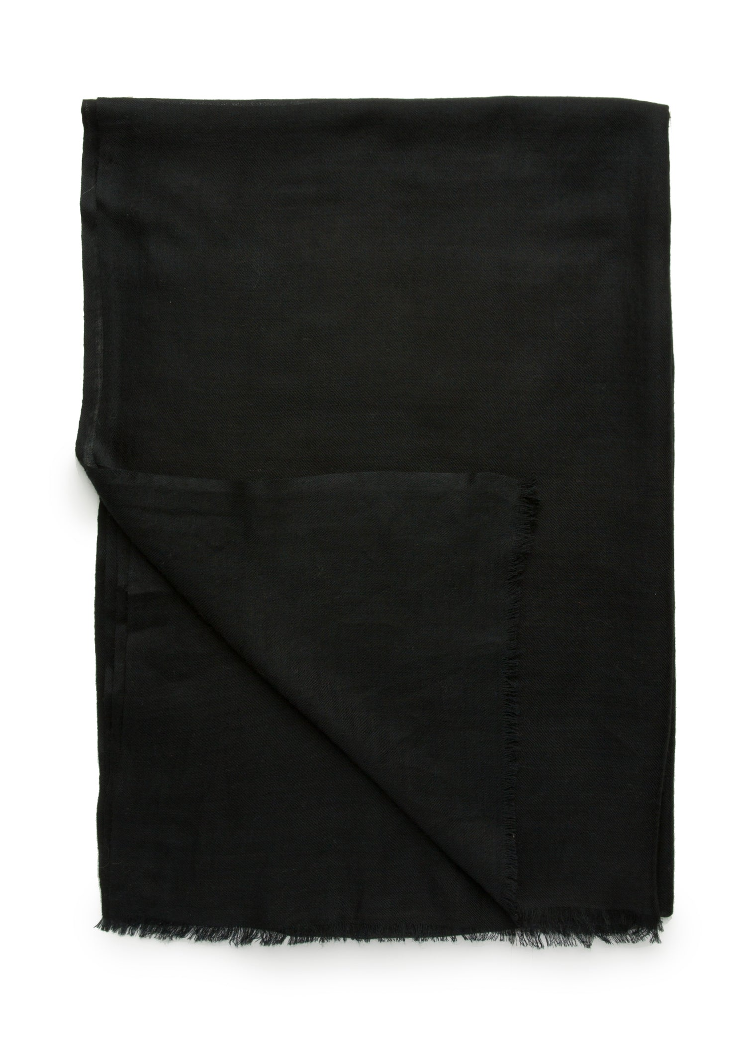 womens black wool blend scarf wrap