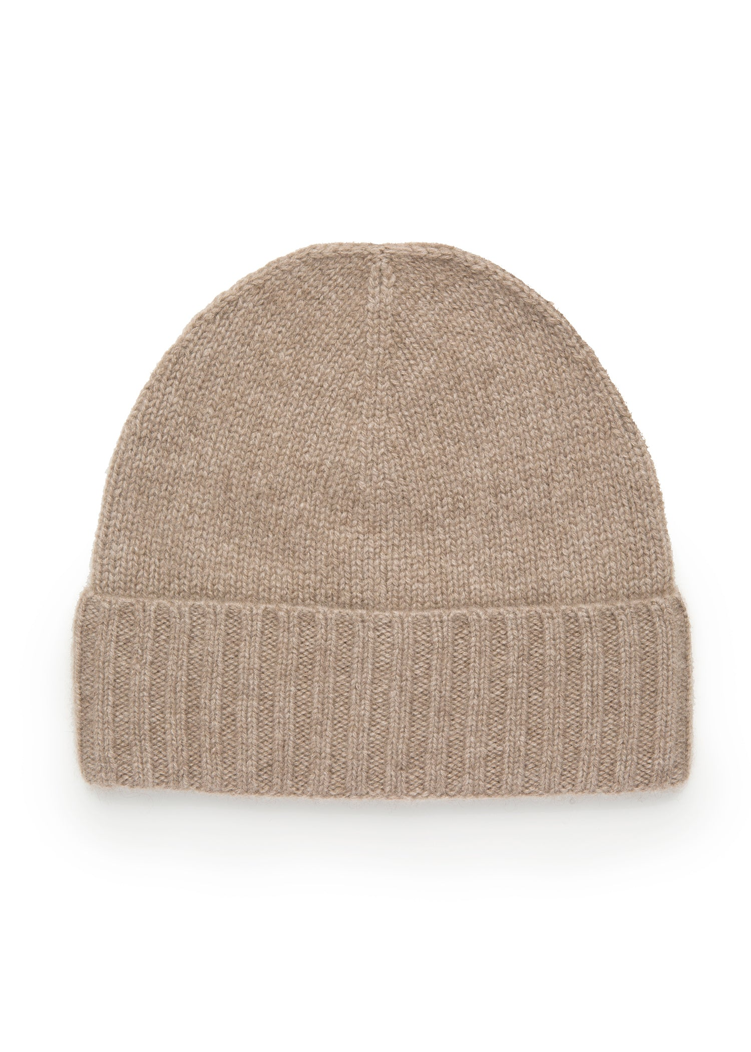 womens natural cashmere beanie hat