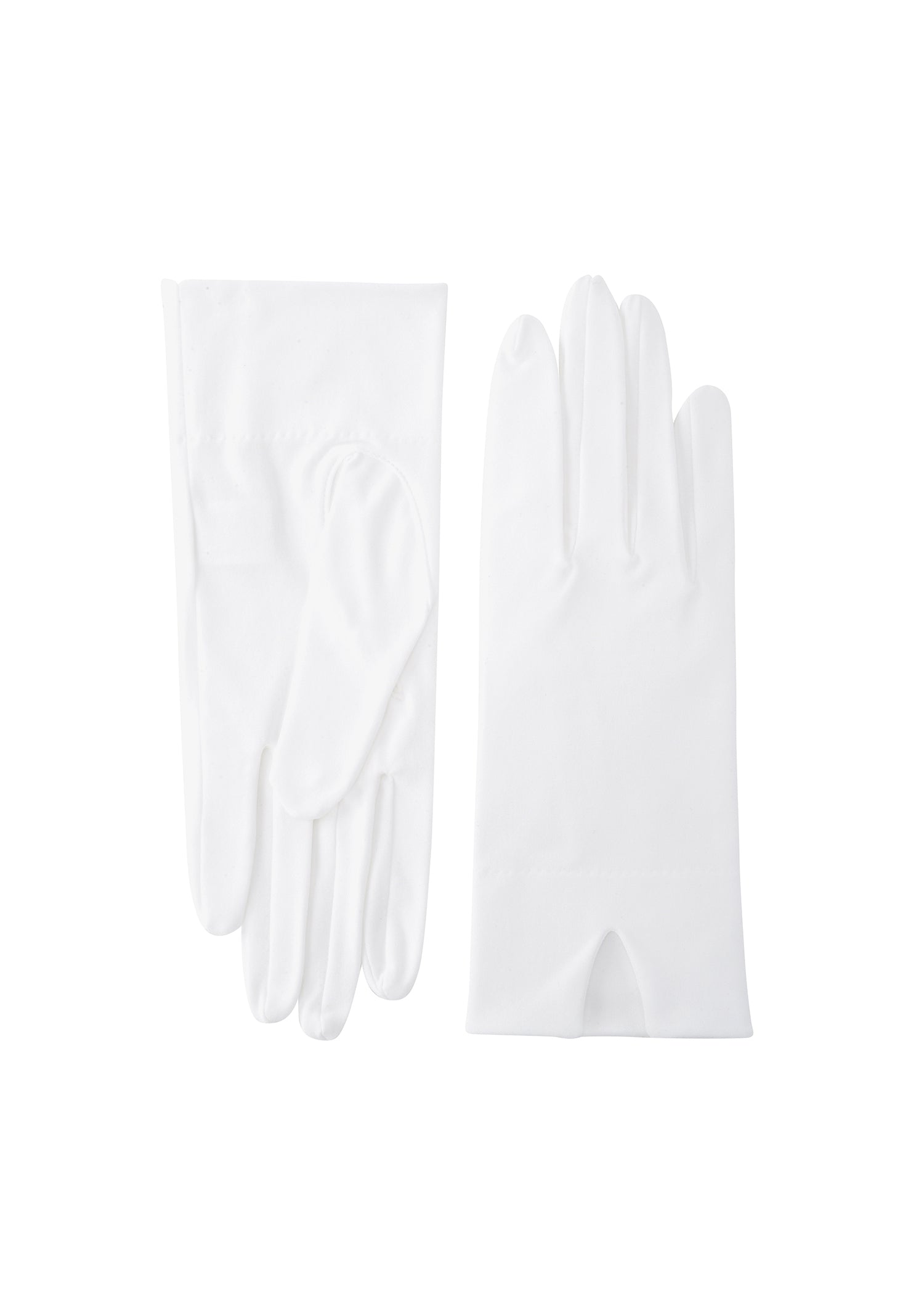 womens diamond polycotton wrist length glove