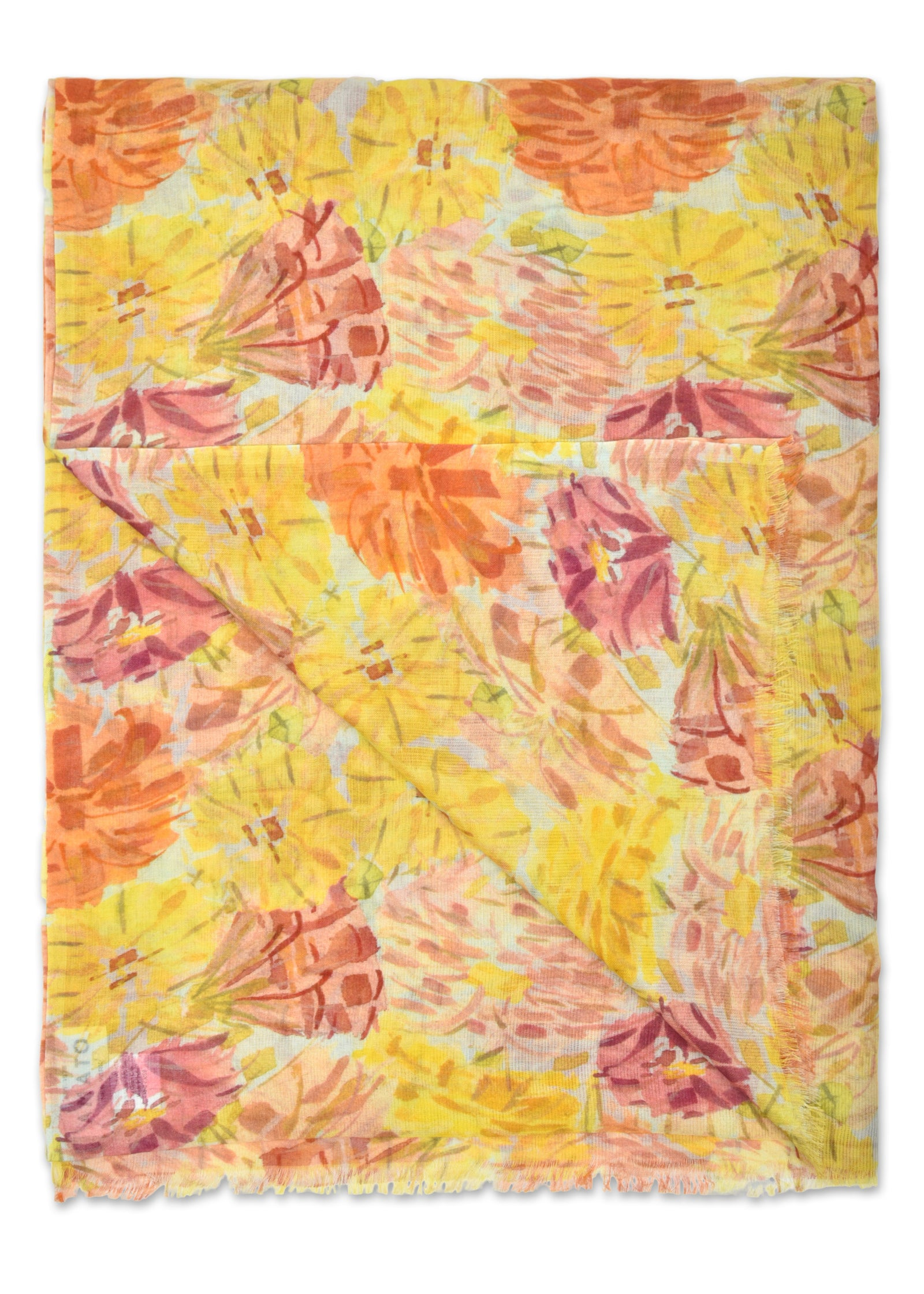 womens floral modal scarf wrap