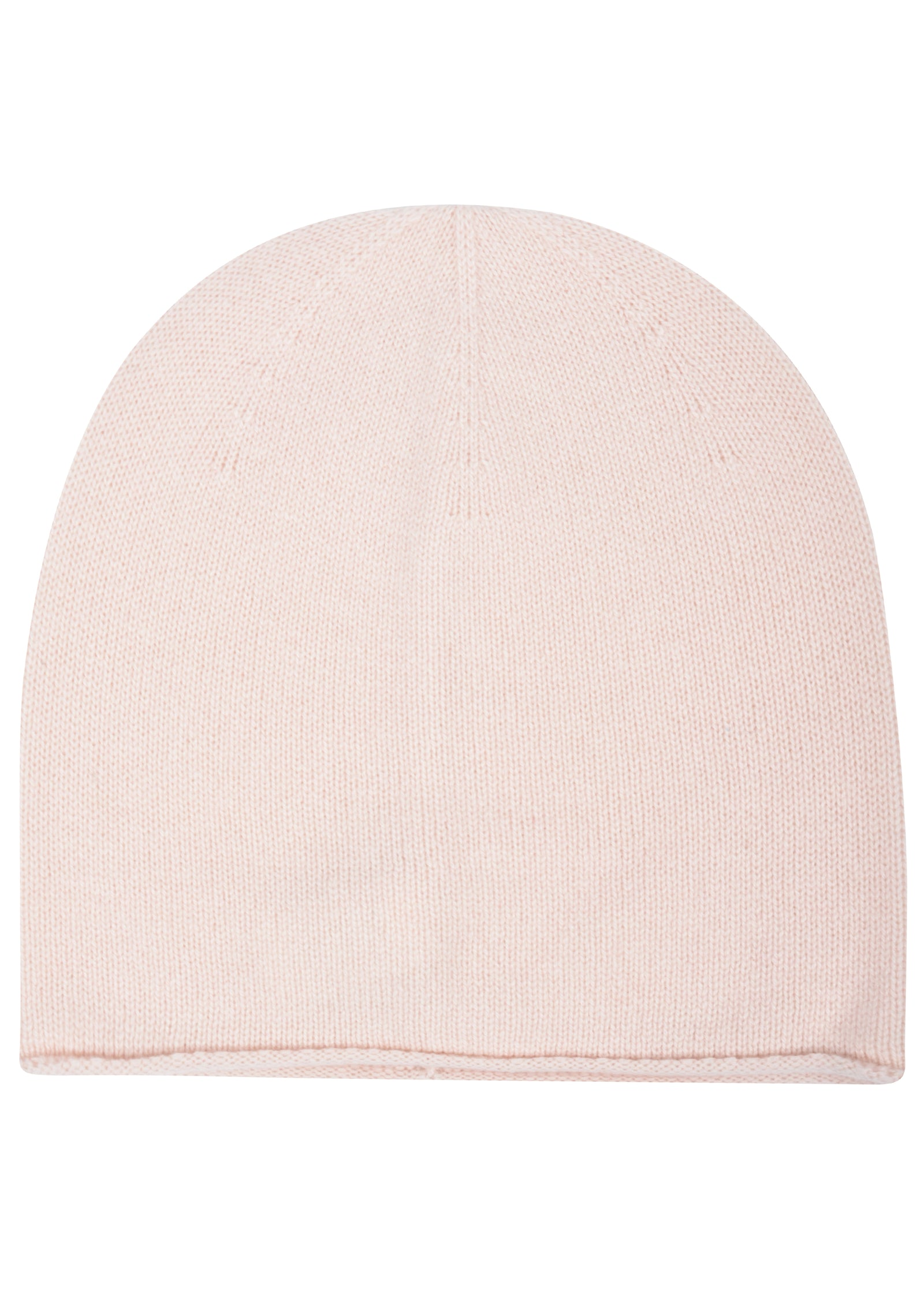 womens pink cashmere slouch hat