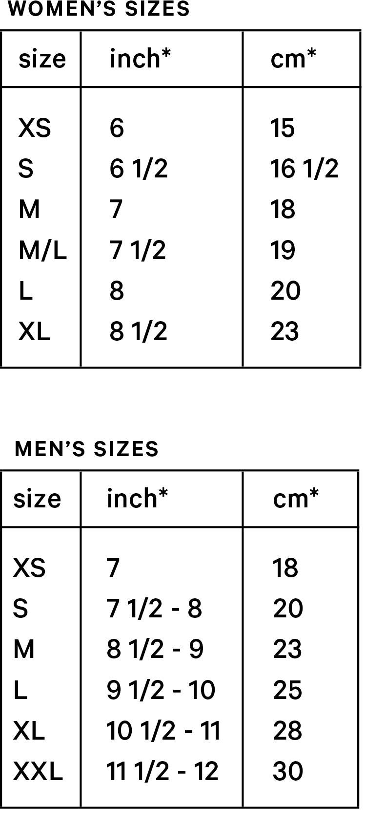 Size Guide  Amato