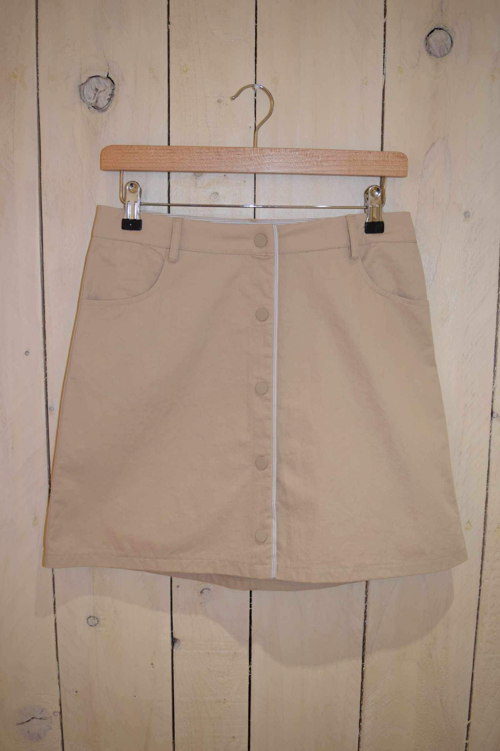 A-line Skirt Beige - With Love Omagh