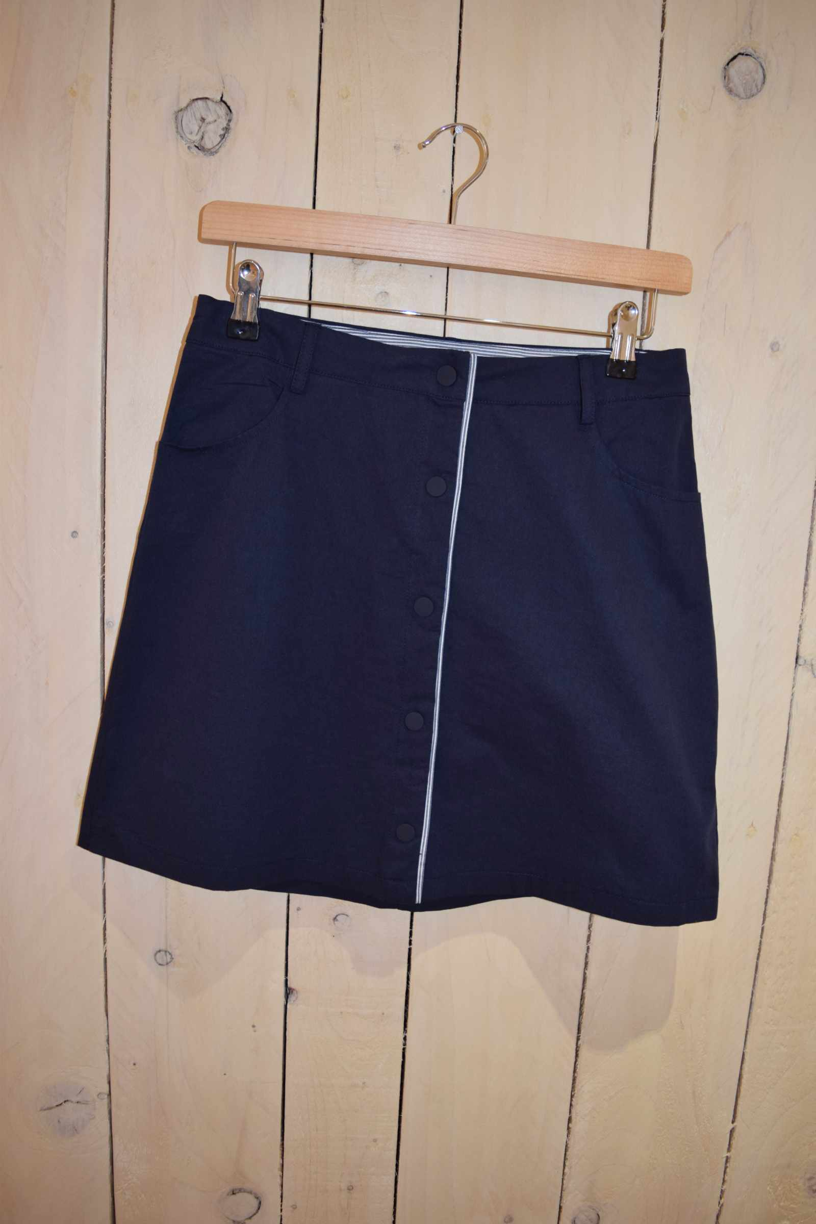 A-line Skirt Navy - With Love Omagh