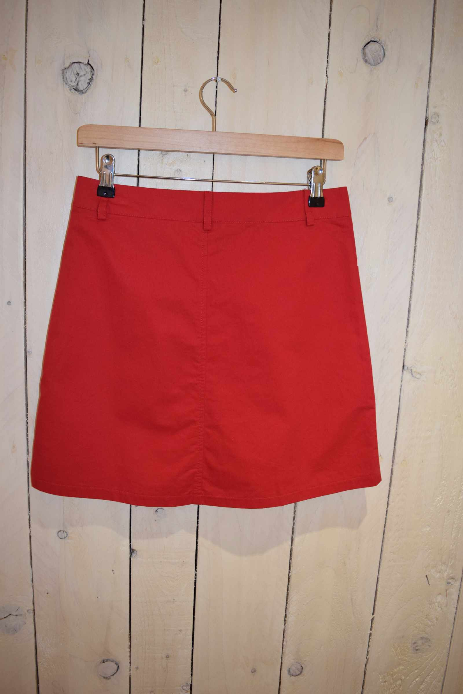 A-line Skirt Red - With Love Omagh