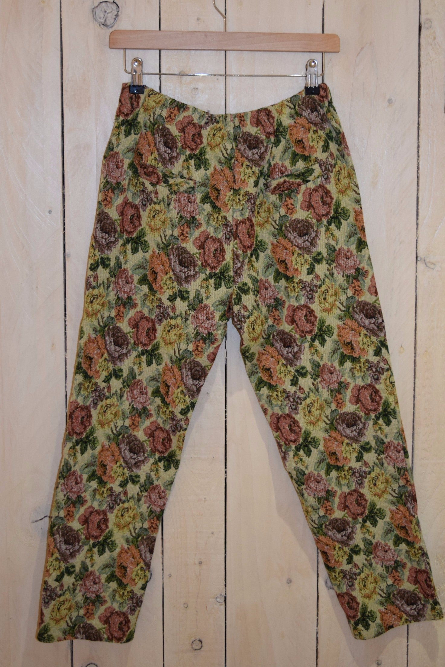 Tapestry Floral Ciggy Trousers