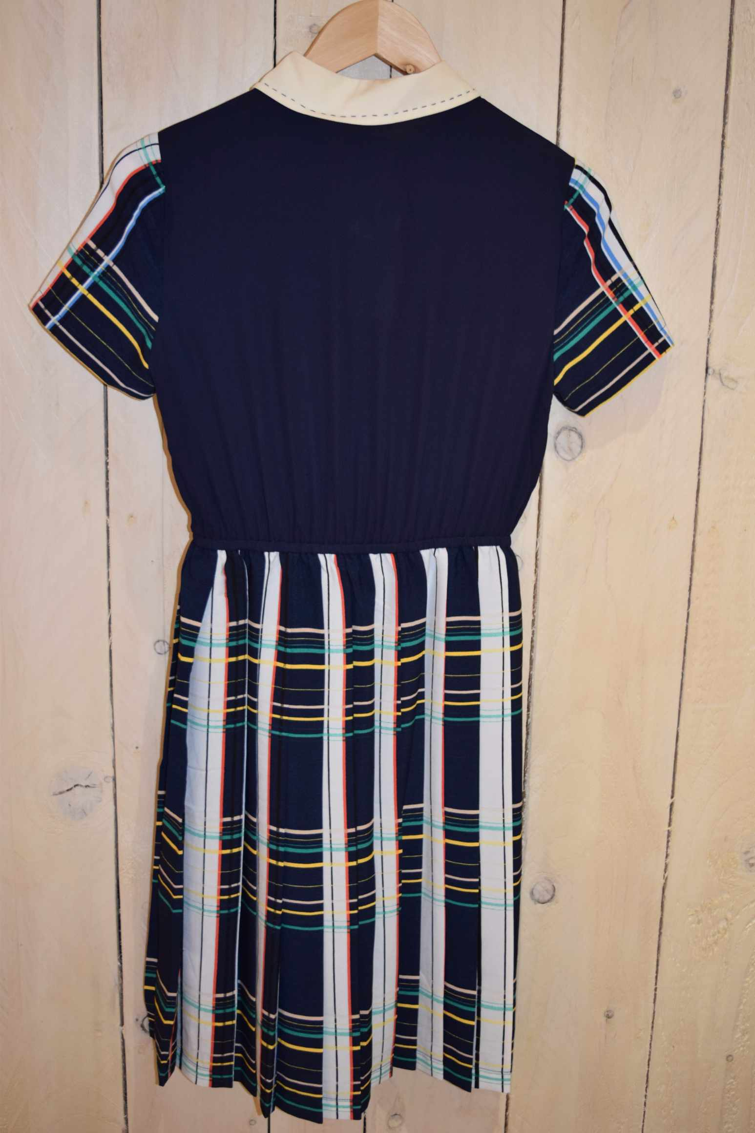 Grid Colour Stripe Dress - With Love Omagh