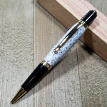 White Speckled Corian Stone Sierra Pen