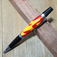 Glossy Red & Yellow Elegant Sierra Pen